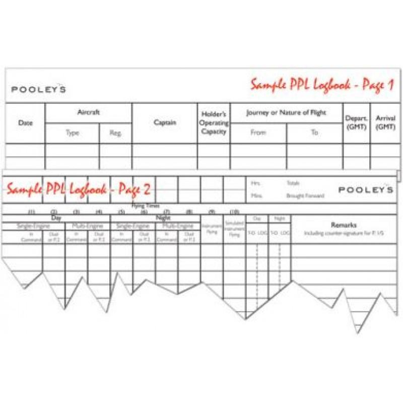 9fdad437655 Pilot Flying Log Book (power)