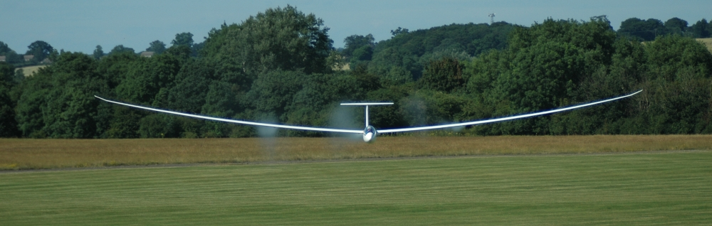 J15 landing at Bicester Airfield